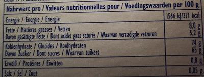 Decor-Kit - Informations nutritionnelles - fr