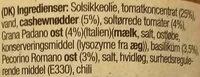 Red Pesto - Ingrédients - da