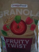 Granola fruity twist raspberry & apple - Product