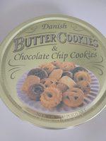 Danish Butter Cookies & Chocolate Chip Cookies - Product - de