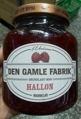 Hallon marmelad - Product - sv
