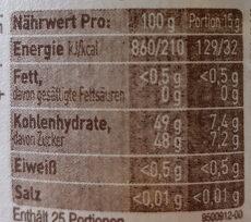 Orange den (Gamle Fabrik) - Voedingswaarden - de