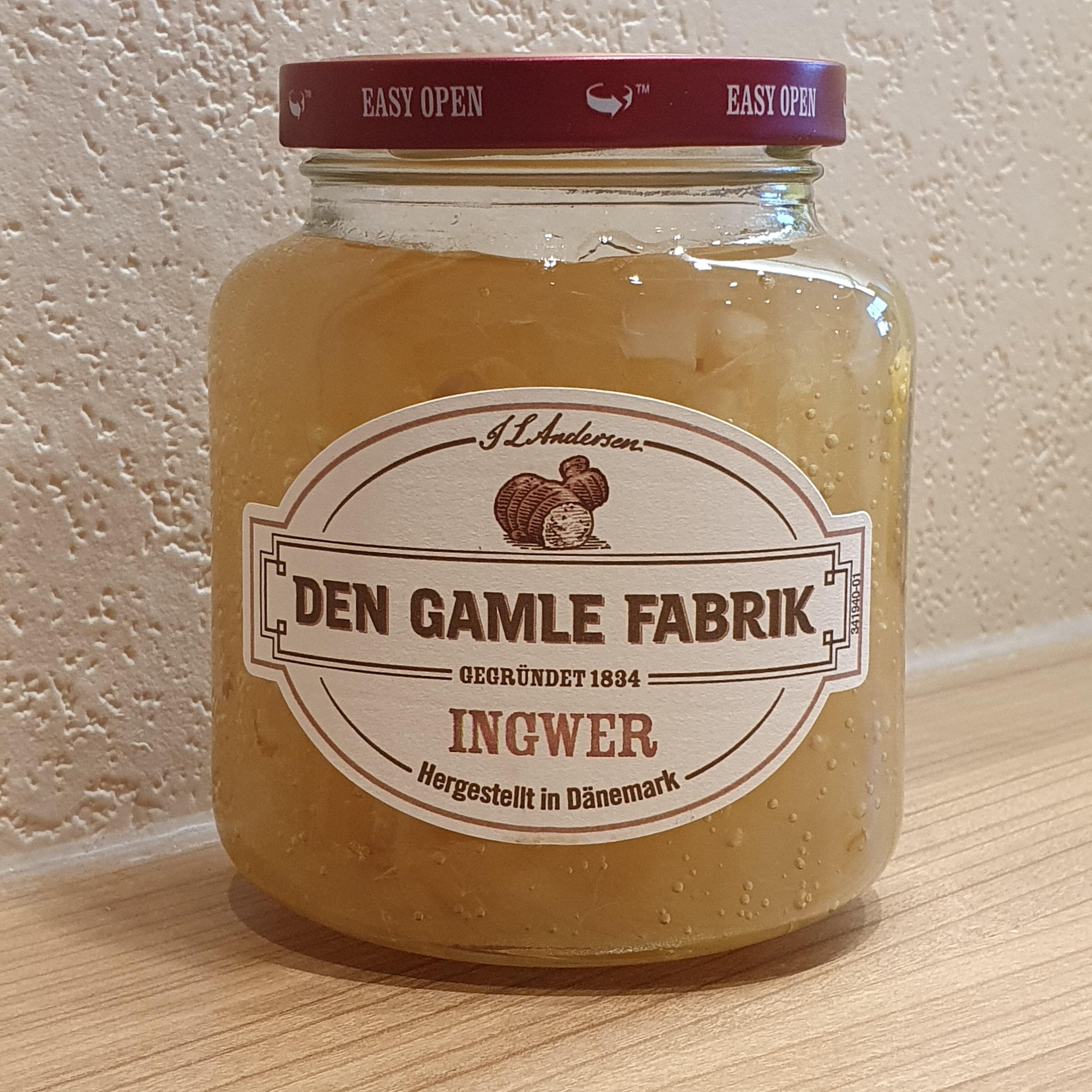 Den Gamble Fabrik Ingwer - Produkt - de