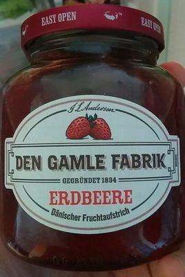 Dänischer Fruchtaufstrich Erdbeere - Produkt