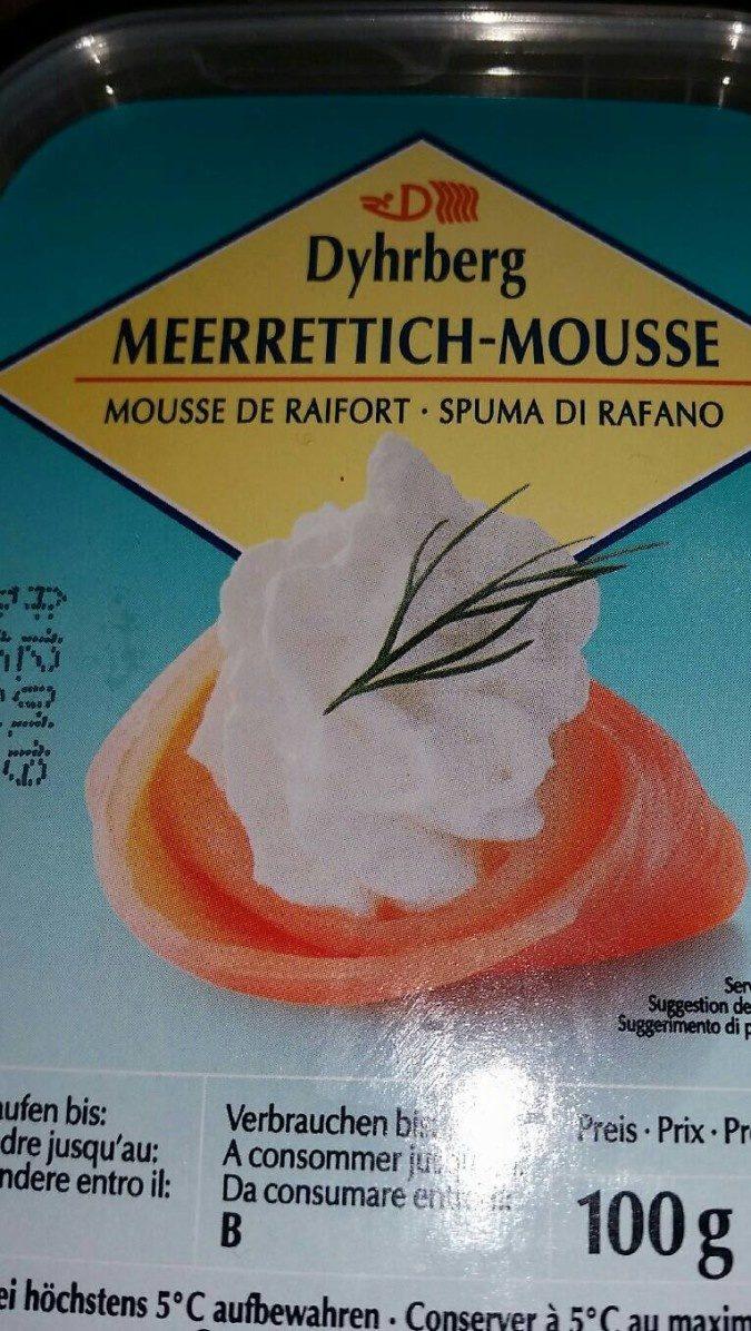 Dyhrberg Meerrettich mousse - Produit - fr