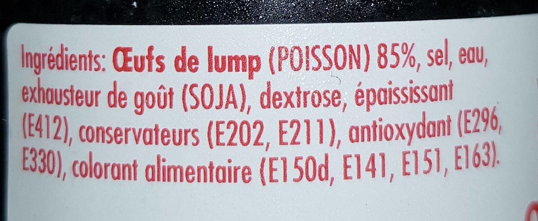 Oeufs de lump - Ingrédients - fr