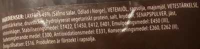 Laxburgare - Ingrédients