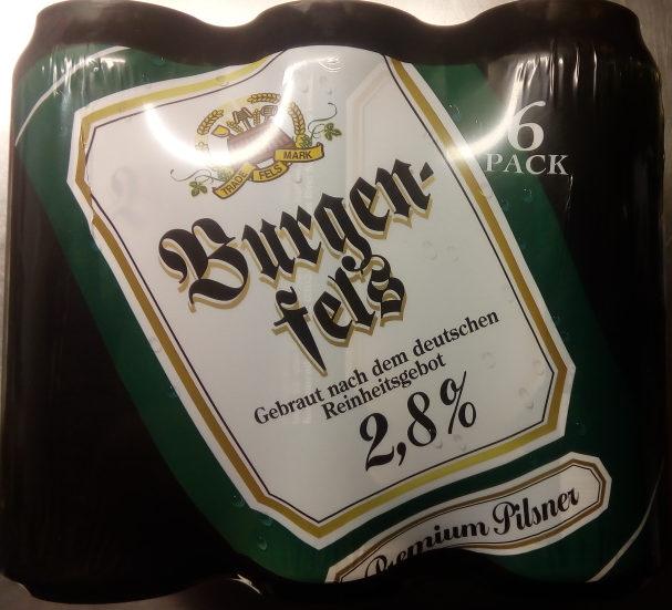 Burgenfels Premium Pilsner 6 Pack - Produit - sv