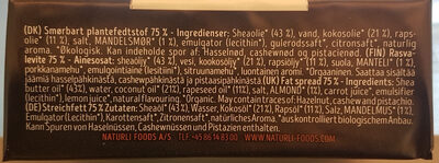 Organic Vegan Block - Ingredienti - de