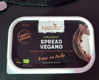 Spread vegano - Producto