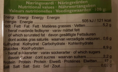 Organic Edamame - Nutrition facts - en