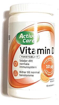 Active Care Vitamin D Tuggtablett - Produit