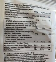 Chips Paprika - Nutrition facts - fr
