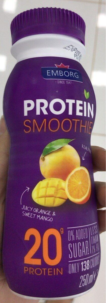 Protein Smoothie orange-mango - Product - fr
