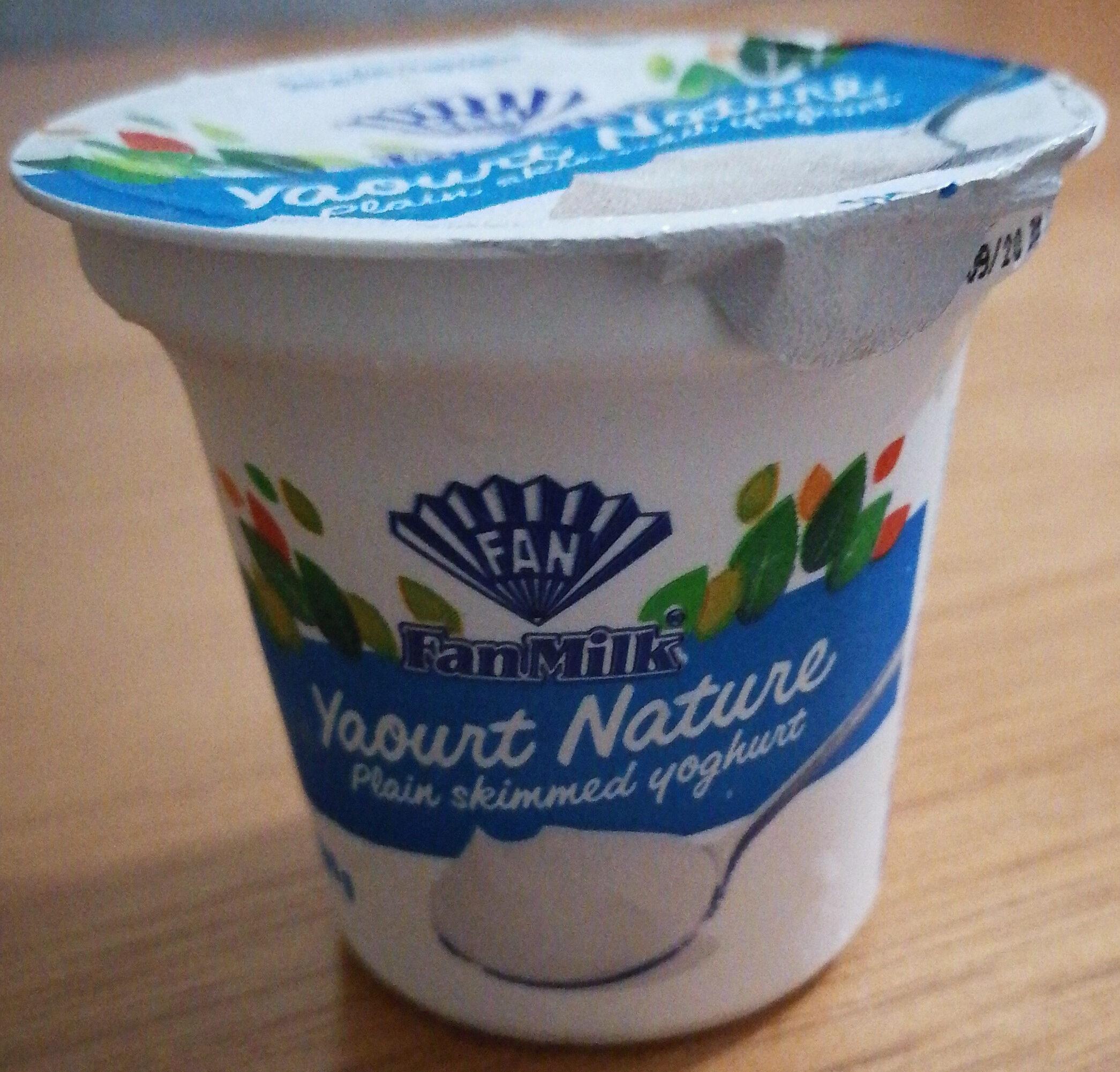 yaourt nature - Product - en
