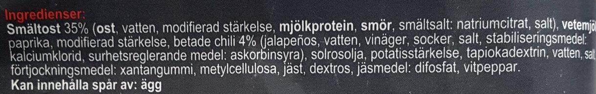 Chili Cheese Tops - Ingredienti - sv