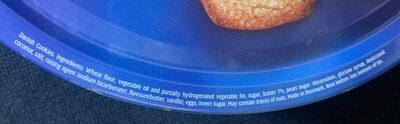 Danish Biscuit (454 G) - Ingredients