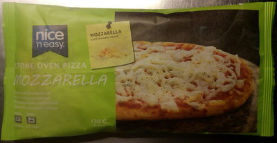 Nice 'n easy Stone oven pizza Mozzarella - Product