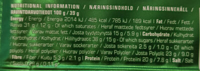 Nutra-go - Nutrition facts - fr