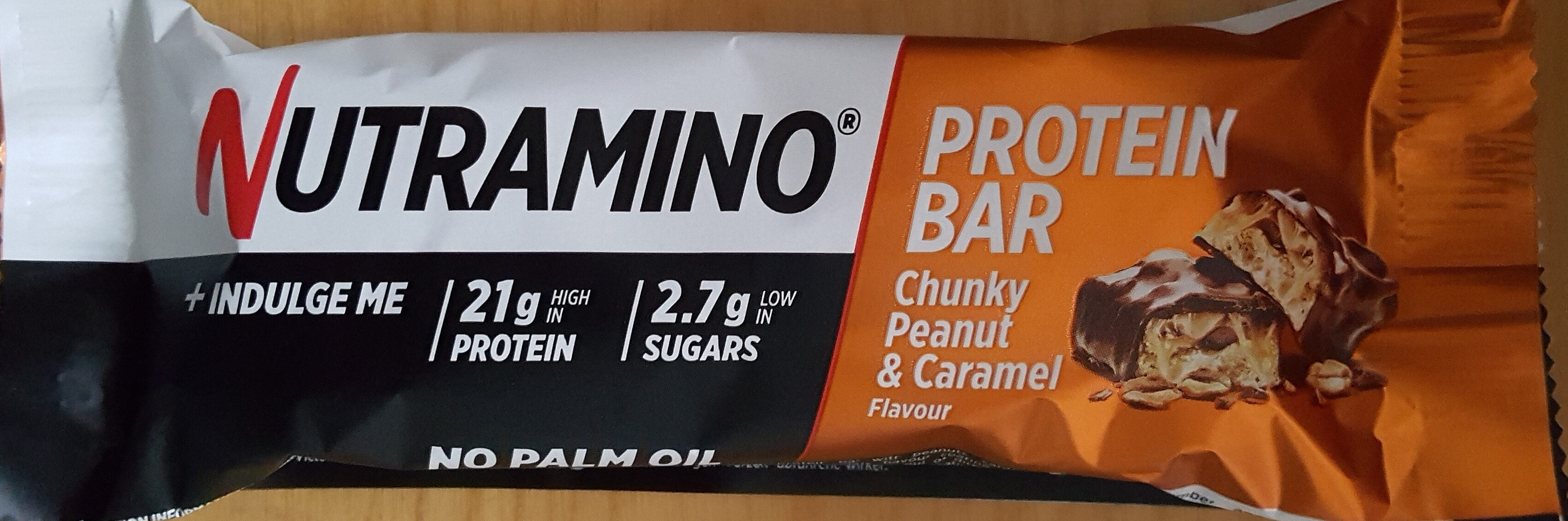 nutramino peanut and caramel