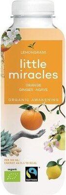 Organic Energiser Lemongrass Orange Ginger Ginseng Agave - Product - fr
