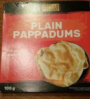 Plain pappadums - Prodotto - fr