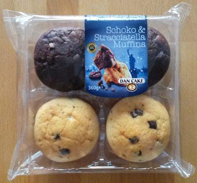 Schoko & Stracciatella Muffins - Product