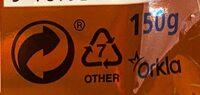 Odense Marsipan Salt Karamell - Instruction de recyclage et/ou informations d'emballage - en