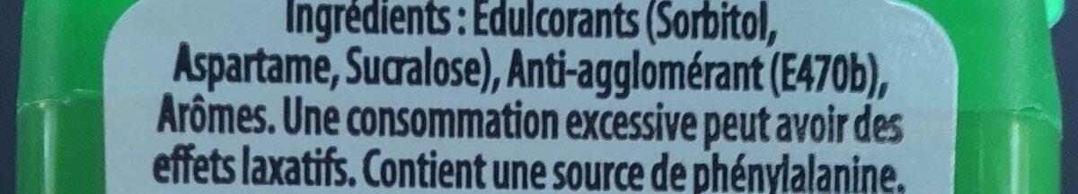 Mini Mints Menthe - Ingredients