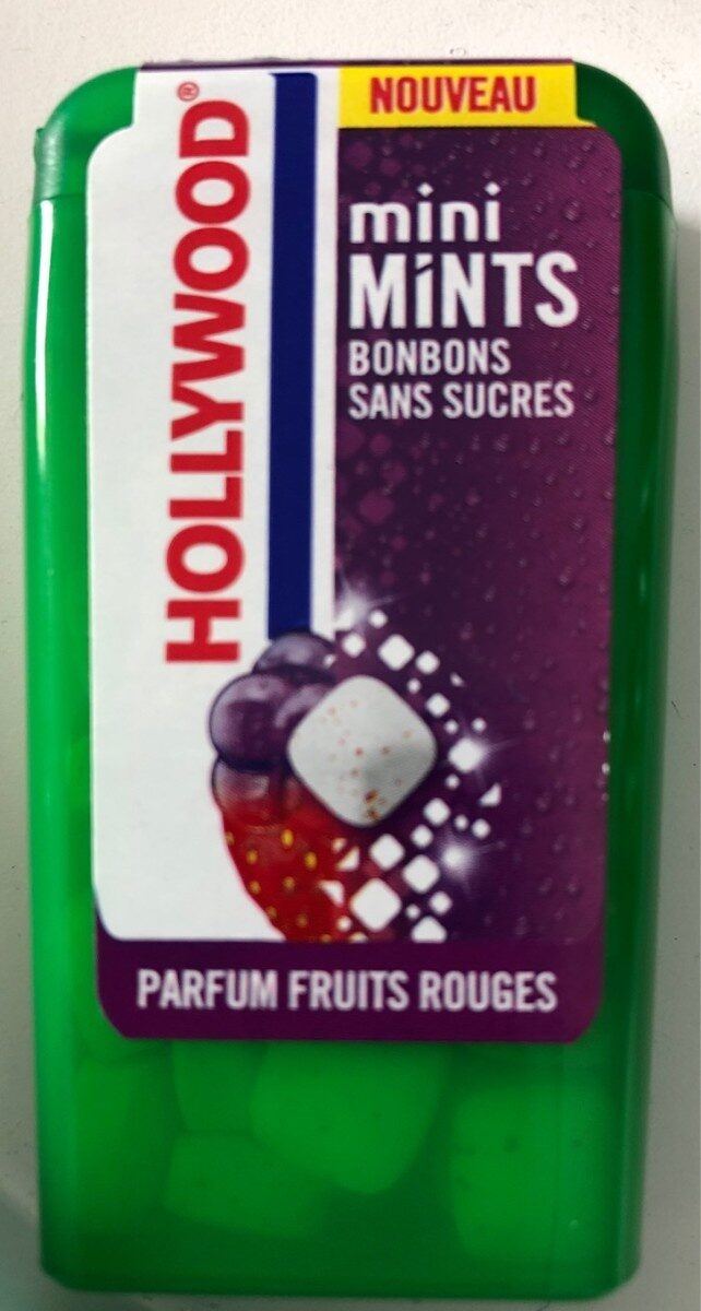 Mini mints fruits rouge - Product - fr
