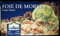 Foie de morue, goût fumé - Product - fr