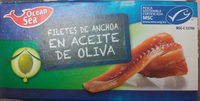 Filetes de Anchoas Aceite de Oliva - Producto