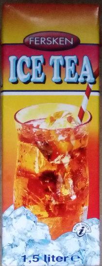 Ice Tea Fersken - Product