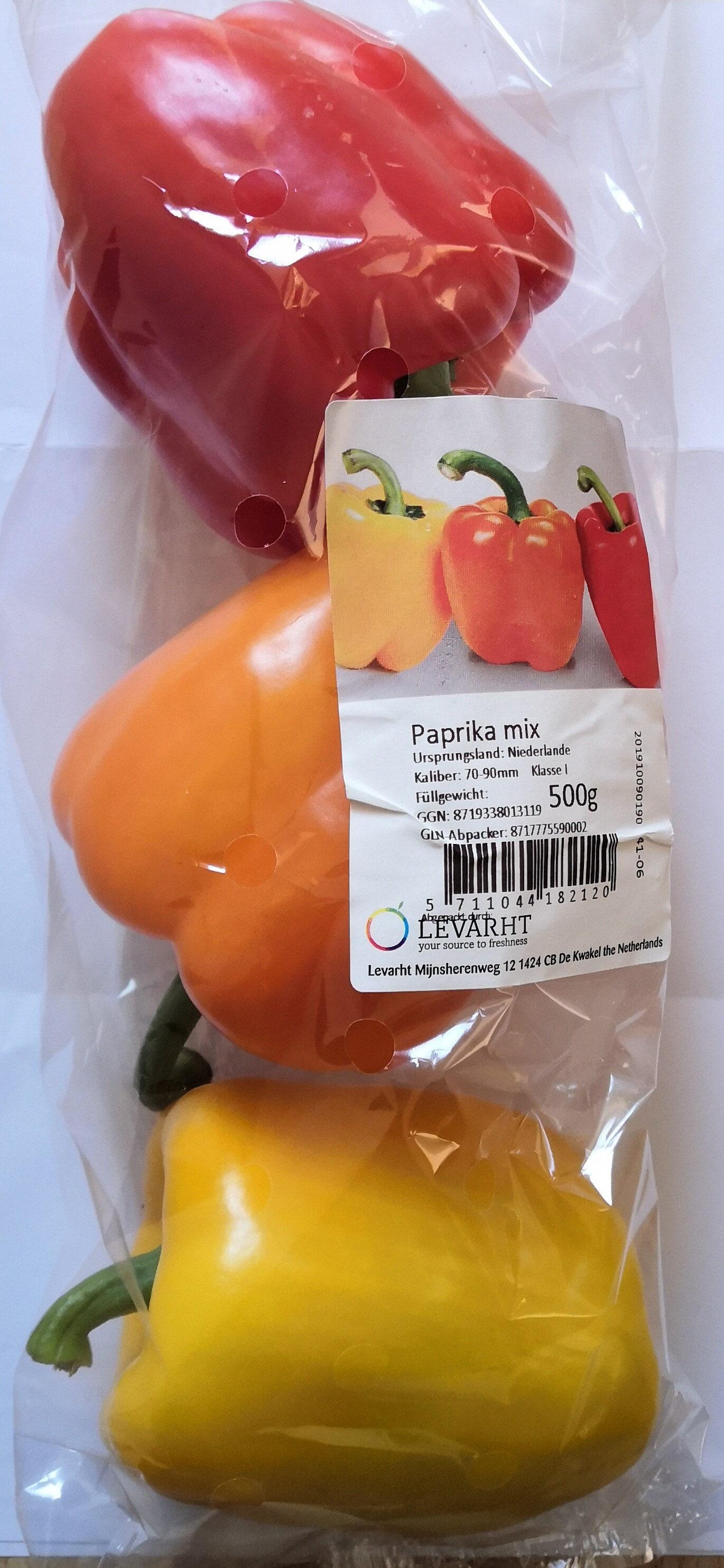 Levarht Paprika-Mix - Produkt - de