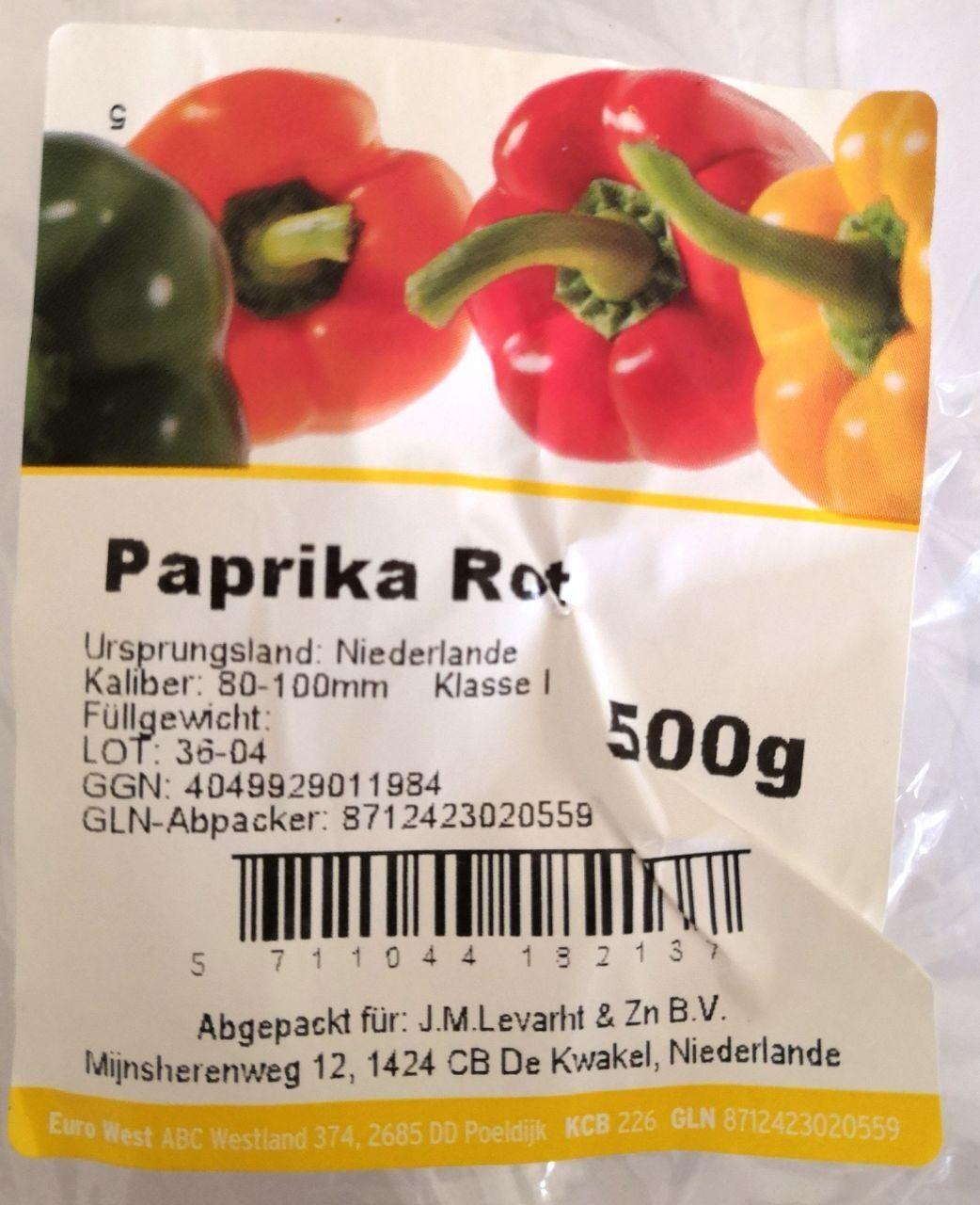 Paprika Rot - Produkt