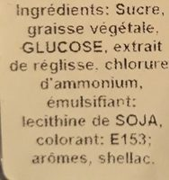 Vermicelles à la Réglisse - Ingredients
