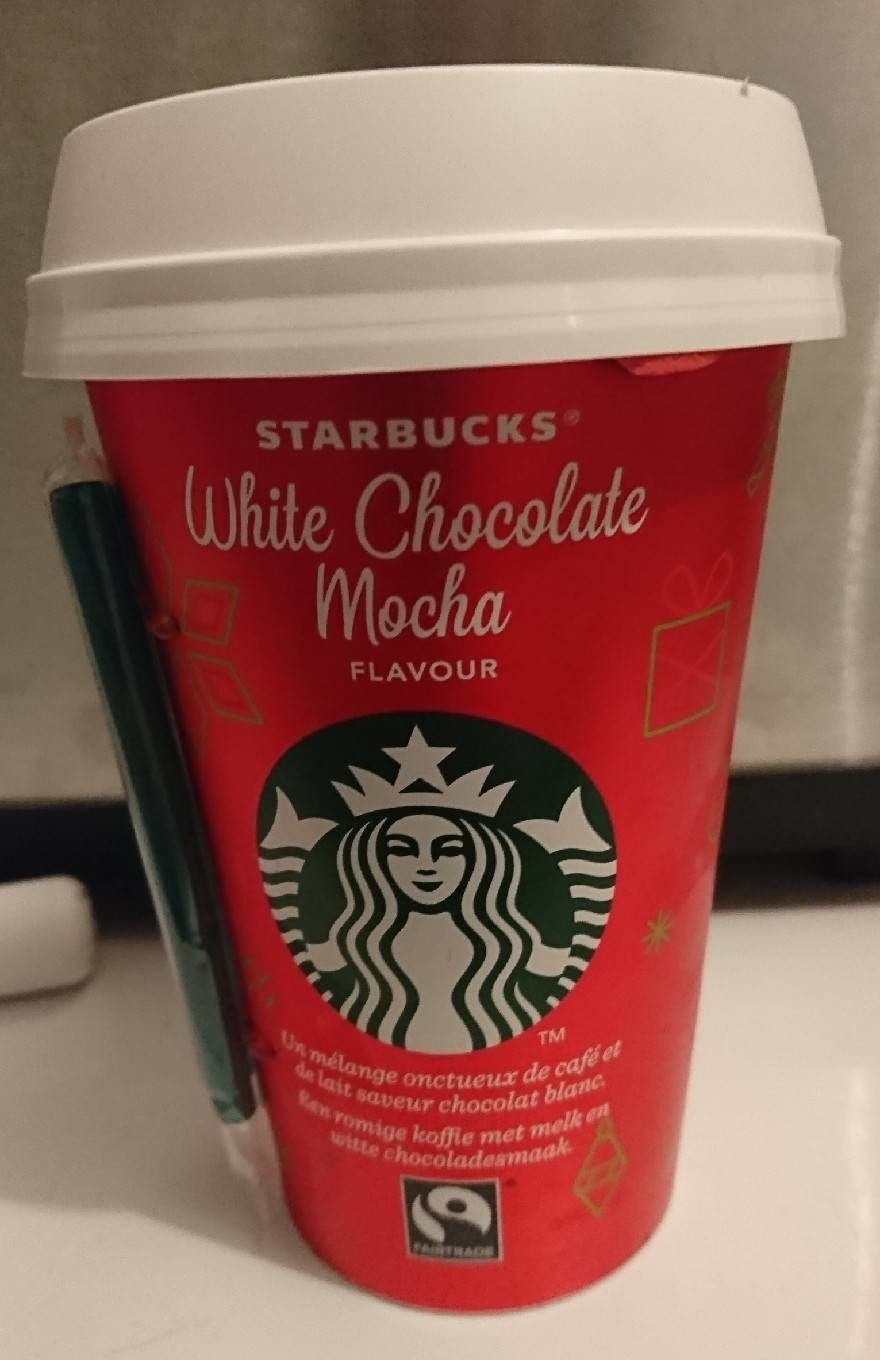 White Chocolate Mocha Starbucks 220 Ml