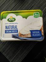Natural cream cheese - Producto