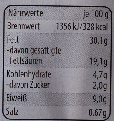 Pfeffer-Ring - Nutrition facts