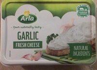 Garlic fresh cheese - Produit - fr