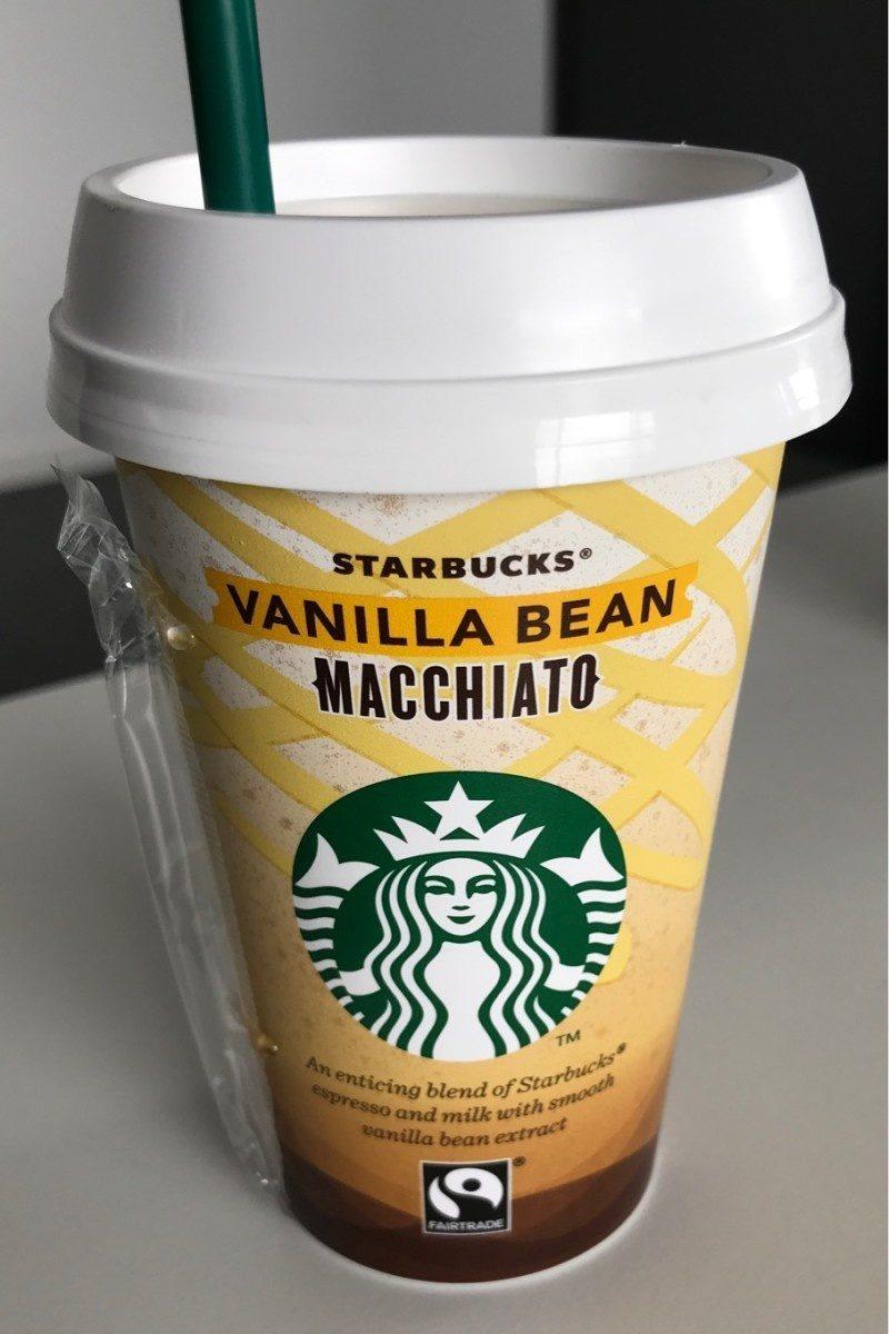 Vanilla Bean Macchiato Starbucks 220ml