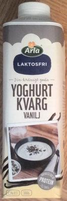 Arla Yoghurtkvarg Vanilj laktosfri - Product - sv