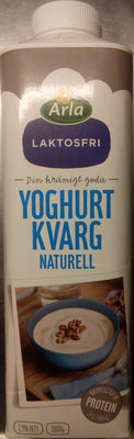 Arla Yoghurtkvarg Naturell laktosfri - Produit - sv