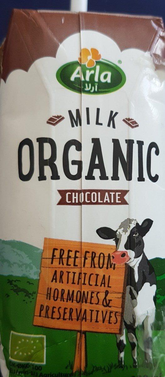 Lait organic chocolat - Ingrediënten - fr