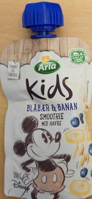 Kids Blåbær & Banan Smoothie - Product - en