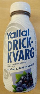 Yalla! Drickkvarg Blåbär & Svarta Vinbär - Product