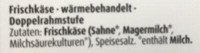 Buko Der Sahnige - Ingrediënten - de