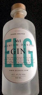 ELG Premium Danish Small Batch Gin No. 1 - Product