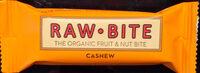 Raw Bite Fruchtriegel Cashew, 50 GR STüCK - Product - en