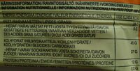 Raw Bite Cashew - Nährwertangaben - de